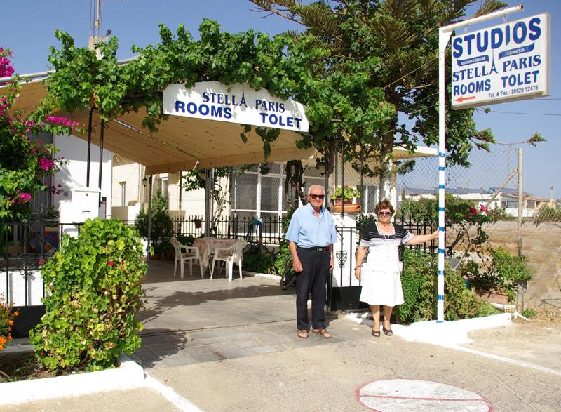 rooms studios stella paris kokkinos pirgos south crete